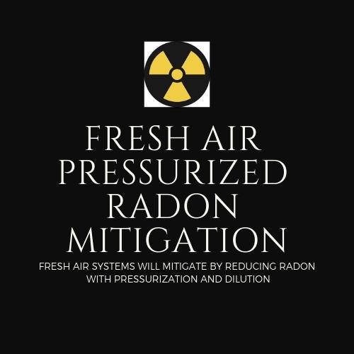 Fresh Air Pressurized Radon Mitigation logo