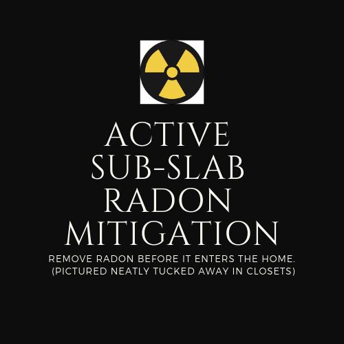 Sub-slab Radon Mitigation logo
