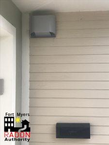 Radon Mitigation Outside Hood