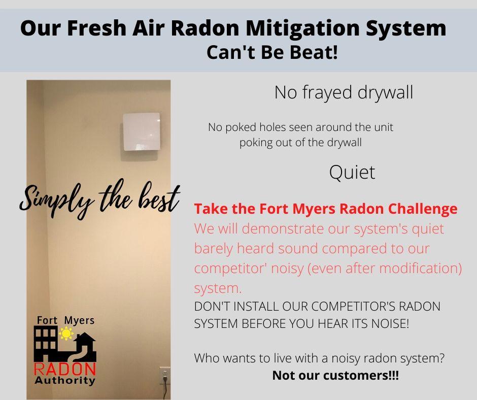 Fort Myers Radon Mitigation & Testing Challenge Post 13300-56 S. Cleveland Ave., STE116, Fort Myers, FL 33907 239-653-7555
